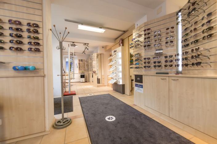 Geschäftsräume von Optik Lenggries